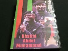 Dr Khallid Abdul Muhammad on the Phil Donahue Show 5/23/94  NYC