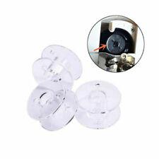 20/30 Bobinas de plástico vacío bobinas para máquina de coser accesorios Hilos de coser