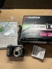 Fujifilm Finepix E Series E900 9MP Digital Camera - Black
