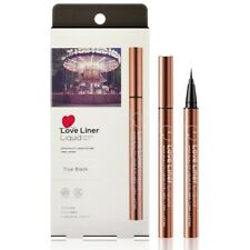 MSH Love Liner Liquid Super Fine Waterproof Eyeliner 0.55ml RenewPack_True Black