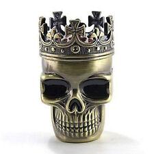 Nuovo colore del bronzo cranio del metallo design dellerba del tabacco