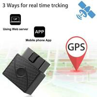 Car OBD 2 GPS Tracker GSM SIM Realtime GPRS Vehicle Security Device Trackin