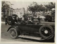 PHOTO ANCIENNE - VINTAGE SNAPSHOT - VOITURE AUTOMOBILE TACOT DÉCAPOTABLE - CAR 2