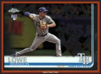 2019 Topps Chrome Brandon Lowe Rookie RC #151 TAMPA BAY RAYS