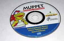 Phonics & Reading Muppet Reading Software Jim Henson Brighter Child PC Disc