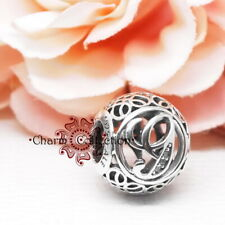 Genuine Pandora, Alphabet Letter, Initial, Vintage G, Bracelet Charm 791851CZ