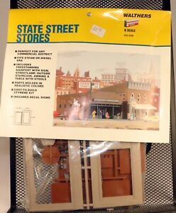 Walthers Cornerstone #933-3209 Sate Street Stores Kit 1/160 N Scale
