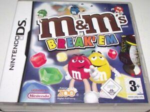 M & Ms Break Em [Nintendo DS] 2DS 3DS Australian G Edition, Excellent Condition