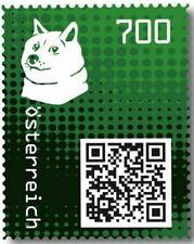 Crypto Stamp 2.0 Doge GRÜN im Folder ! Postfrisch**MNH 4 Bilder >