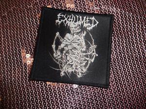 Death Metal Patch Kutte Aufnäher Exhumed Mortician