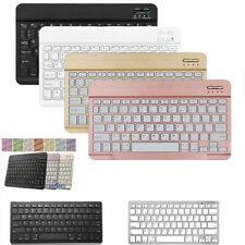 Ultra Slim Wireless Keyboard For iPad Mackbook iMac Windows Pc Laptop Tablet