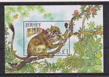 JERSEY MNH UMM STAMP SHEET 2004 SG MS1131 Year of the Monkey