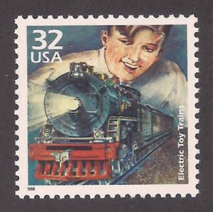 Electric Toy Trains of the 1920s Lionel Standard O Gauge US Stamp MINT CONDITION