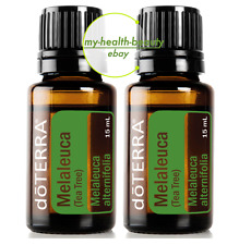New doTERRA Tea Tree 15mlx2 Therapeutic Grade Purity Essential Oil Aromatherapy