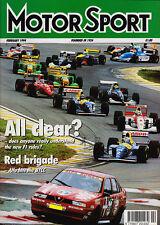 Motor Sport Feb 1994 - New F1 regulations, Volvo 850 T5, McLaren's new LSR chall