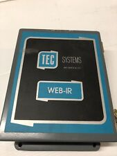 TEC SYSTEMS WEB-IR THERMALERT II TEC2LTB TEMPERATURE CONTROLLER WEB-IR