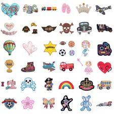 Iron On Motif Sew On Applique Cars Baby Skull Hearts Teddy Bears Flower Rainbow