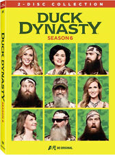 DUCK DYNASTY: SEASON 6 (2 disc) - DVD - UK Compatible  - Sealed