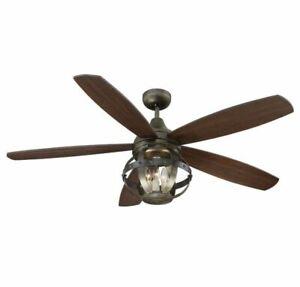 "Savoy House Alsace 52"" Ceiling Fan in Reclaimed Wood"