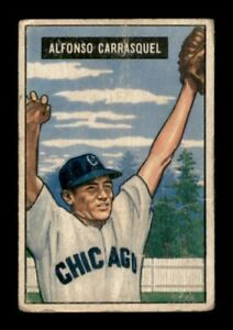 1951 Bowman Set Break # 60 Alfonso Carrasquel GD MK *OBGcards*