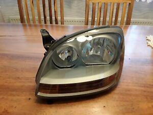 Linker Frontscheinwerfer original Nissan Almera Tino Komplett mit Leuchtmittel