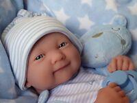REALISTIC LIFELIKE DOLL  ❤️  BERENGUER LA NEWBORN REAL BABY BOY REBORN / PLAY