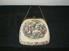 Vintage Tapestry Evening Bag - 1940's