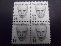 US Postage Stamp 1985 Sinclair Lewis Great American Series Scott 1856  4-14c