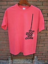 The Goo Goo Dolls Orange T Shirt Size Large 100% Cotton Concert Security 2013