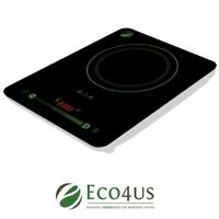 Eco4us - Induction Cooktop with 10 Temperature Levels and Digital Touch