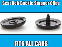 Holders Studs Retainer Stopper Rest Pin 4x Honda Seat Belt Buckle Buttons