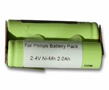 Akku für Philips HS355, HS600, HS930, HS969, HS970, HS990, HP2631 2000mAh NiMh