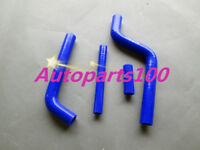 Blue silicone radiator hose for YAMAHA YZ125 1996 1997 1998 1999 2000 2001