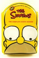 The Simpsons: The Complete Sixth Season Collectors Edition 6th Season 4 Disc Set