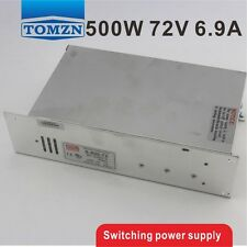 500W 72V 6.9A 220V INPUT Single Output Switching power supply
