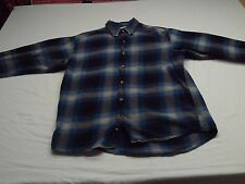 UpScrappy Hobbs Creek Men's Shirt Long Sleeve - Size M - Button Down Flannel