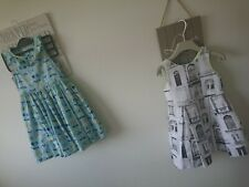 Next M&S girl summer party holiday dress 3-4 years excellent condition