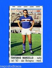 CORRIERE DEI PICCOLI 1966-67 - Figurina-Sticker - TENTORIO - SAMPDORIA -New