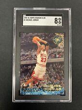 1995-96 Stadium Club Michael Jordan #1 SGC 8 Near Mint-Mint Chicago Bulls