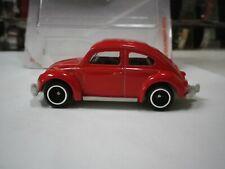 2019 Matchbox Red 1962 Volkswagen VW Beetle Hot Wheels Custom Real Riders