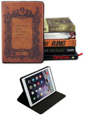 Pour Apple iPad Pro 9.7/iPad 9.7/iPad Air 1-2 Classic Vintage Book Case Cover