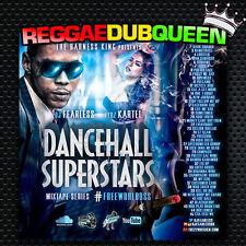 DJ Fearless - Vybz Kartel Dancehall Superstar Mixtape. Reggae Mix CD.