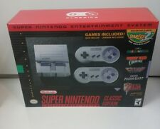 NEW unopened  SNES Super Nintendo Mini Classic Edition
