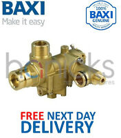 Baxi Combi 80E, 80 Eco, 80 Maxflue 3 Way Diverter Valve Assy 248062 Genuine NEW
