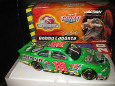 1.24 ACTION NASCAR 2001 GRAND PRIX #18 BOBBY LABONTE JURASSIC PARK   INTERSTATE