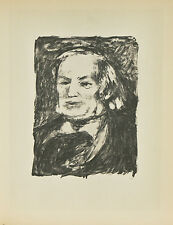 """Richard Wagner"" By Fernand Mourlot After Renoir Lithograph LE #29/3000"