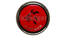 Trunk Badge Mustang Coyote Rear Deck Decklid Gas Cap Emblem - New Style! L@@K!