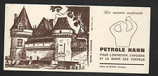 """CHATEAU de FENELON (24) Buvard / PRODUITS pour COIFFEUR """"PETROLE HAHN"""""""