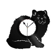 Exotic Shorthair Cat Vinyl Wall Clock Record Animal Best Gift Home Decoration