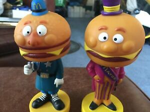 Mayor McCheese and Officer Big Mac Bobbleheads by Funko - 2006